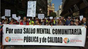 Manifestación de la Marea Blanca en Madrid.