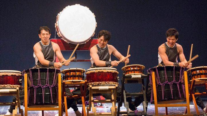 Drum Masters, grupo de percusión procedente de Japón.