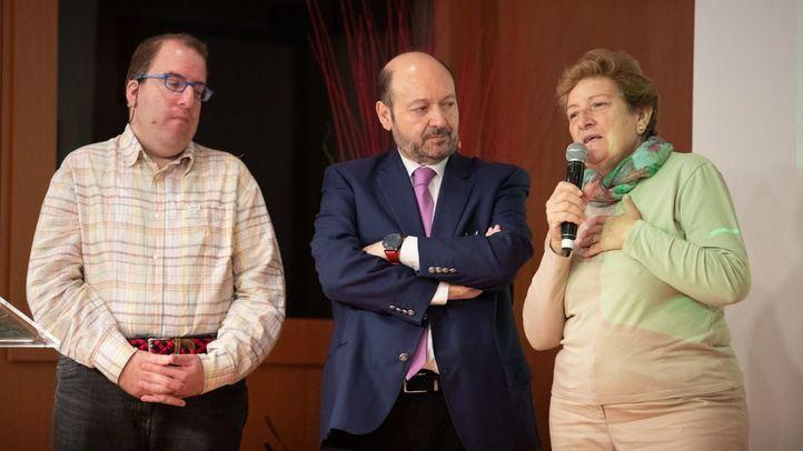 Ponencia 'Campeones de la inclusión' en la que han intervenido José de Luna, actor de 'Campeones', y su madre, Mercedes.