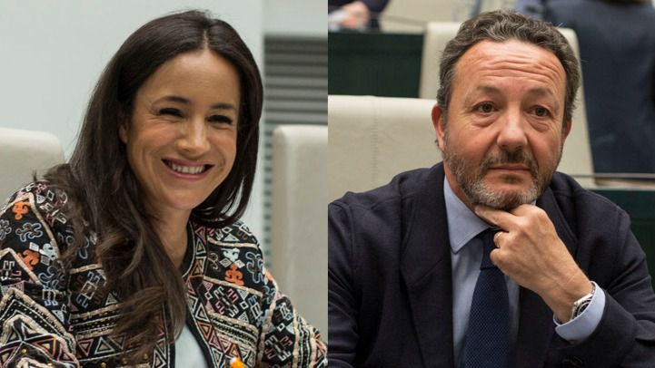 Begoña Villacís e Íñigo Henríquez de Luna.
