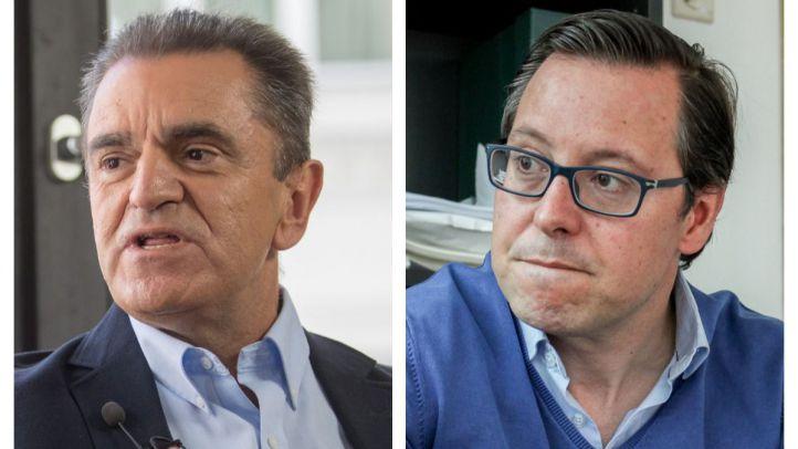 José Manuel Franco y Alfonso Serrano.