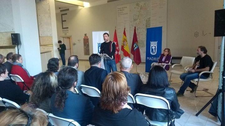 Murgui, Causapié y Villalobos han participado en la presentación.