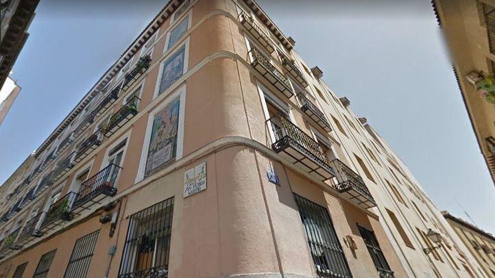 Pensión donde se hospedó Pablo Picasso entre 1897 y 1898 en el número de la calle San Pedro Mártir.