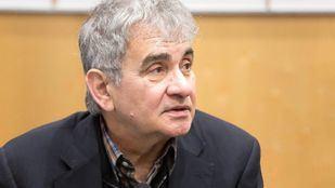 El escritor Bernardo Atxaga