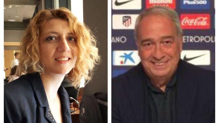 Nuria Platón y Luis Gómez.