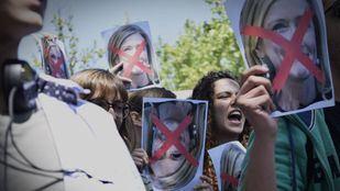 Protesta estudiantil tras el caso Máster.