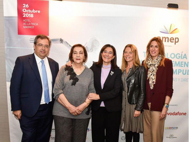 """Pozuelo inaugura el congreso """"Tecnología y Talento femenino. Tomando impulso"""" de AMEP"""