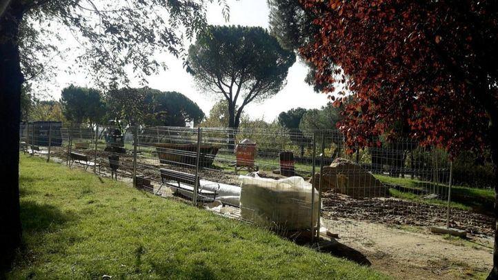 Mejora de sendas y riego: Arrancan las obras del parque Arriaga