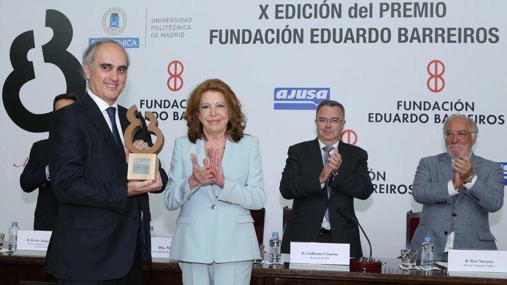 La Fundación Eduardo Barreiros premia a Jorge Cosmen, presidente de ALSA