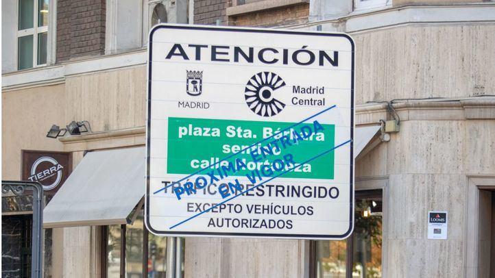 Ciudadanos, como el Partido Popular, pide paralizar Madrid Central con una Proposición No de Ley
