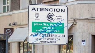 Ciudadanos registra una Proposición No de Ley para frenar Madrid Central