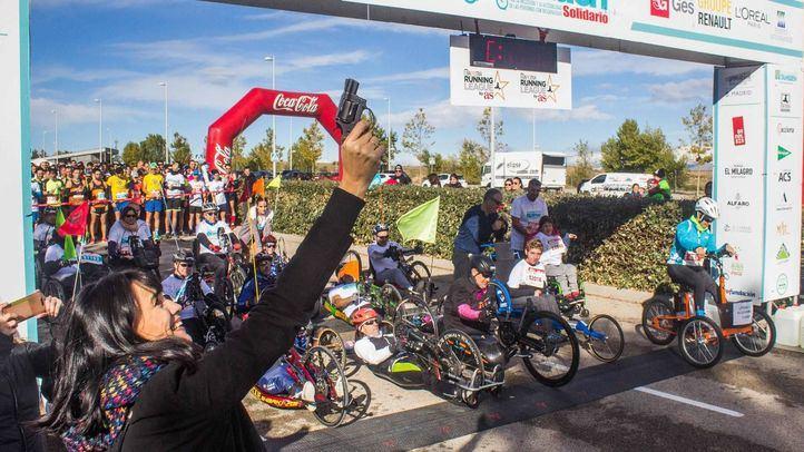 La iniciativa contó con la presencia de Irene Villa como madrina del acto, además de la participación de la medallista paralímpica Teresa Perales, que corrió en bicicleta adaptada