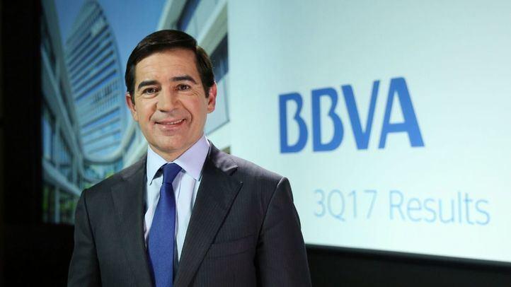 BBVA gana 4.323 millones en los primeros nueve meses