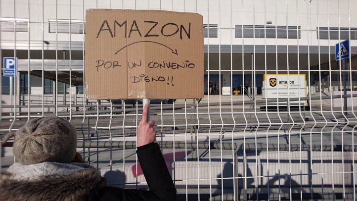 Los trabajadores de Amazon San Fernando plantearán paros en el Black Friday