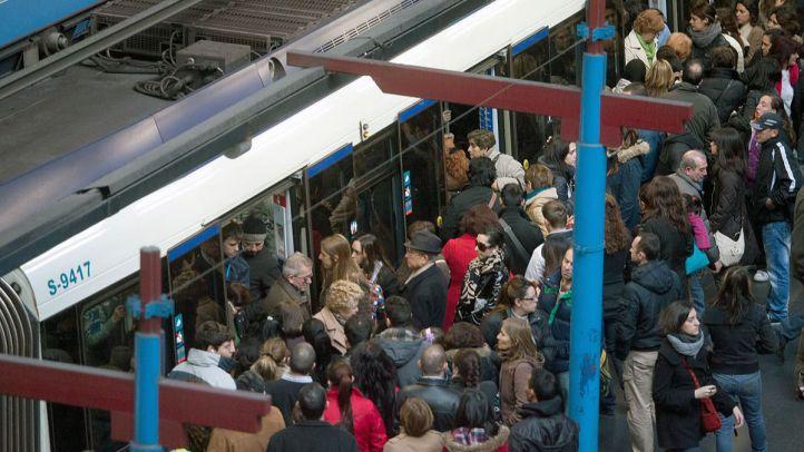 Túneles cerrados, accidentes, huelga de Cercanías y retrasos en Metro colapsan Madrid desde primera hora