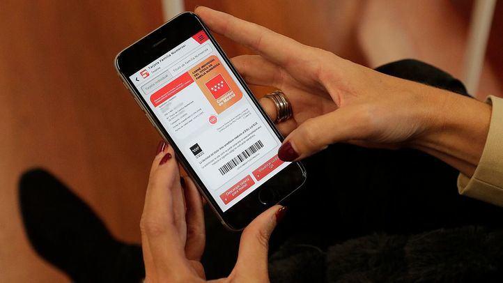 Nueva 'app' para familias numerosas de la Comunidad de Madrid.