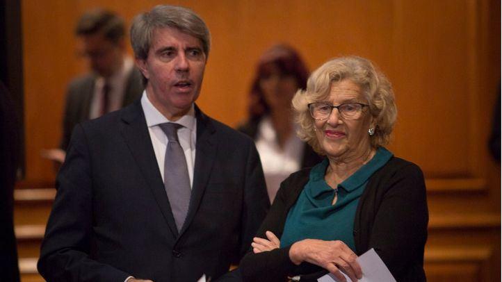 Carmena y Garrido leen la Carta Magna en su 40º aniversario