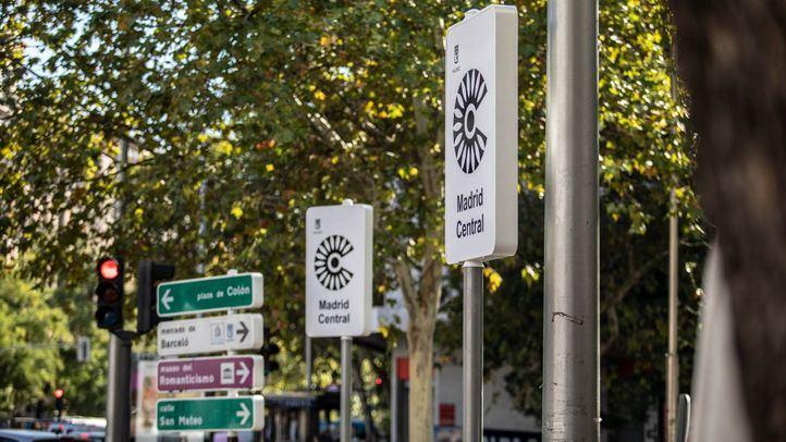 Si se cumplen los planes del Ayuntamiento, Madrid Central comenzaría el 30 de noviembre.