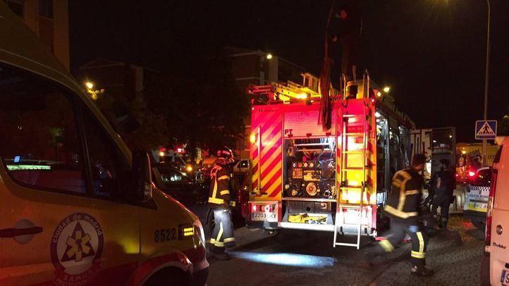 Incendio mortal en Puente de Vallecas