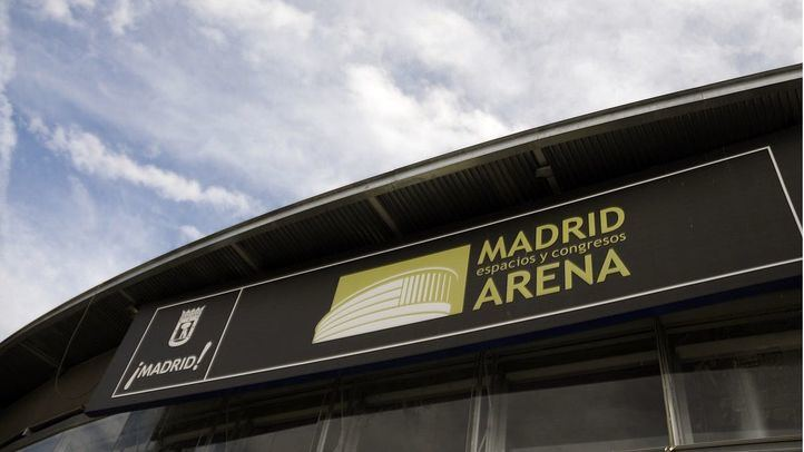 Pabellón Madrid Arena.