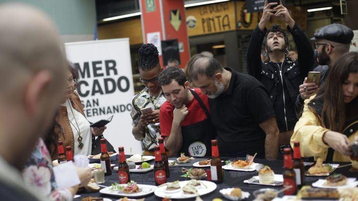 La música puso la guinda al gran festival gastronómico de Lavapiés.