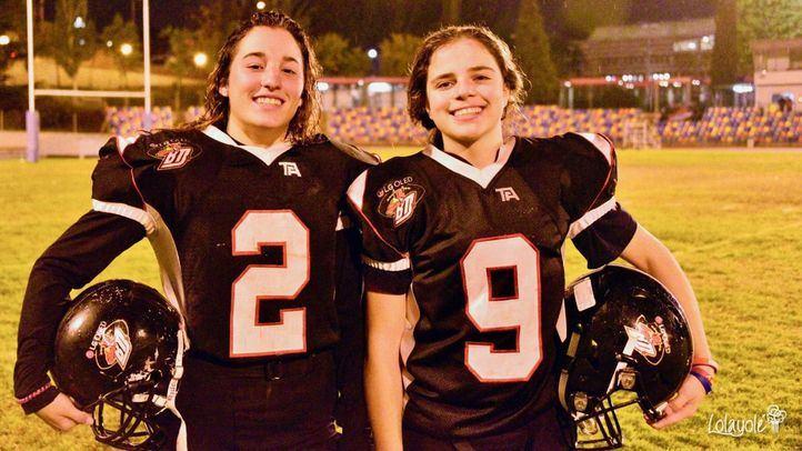 Las mujeres se abren camino en el fútbol americano