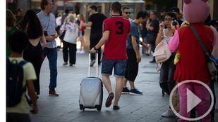 Madrid recibe 5'2 millones de turistas en 2018, un 4'4 por ciento más que en 2017