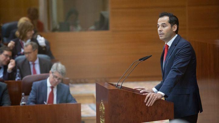 Garrido y Aguado, en un debate parlamentario.
