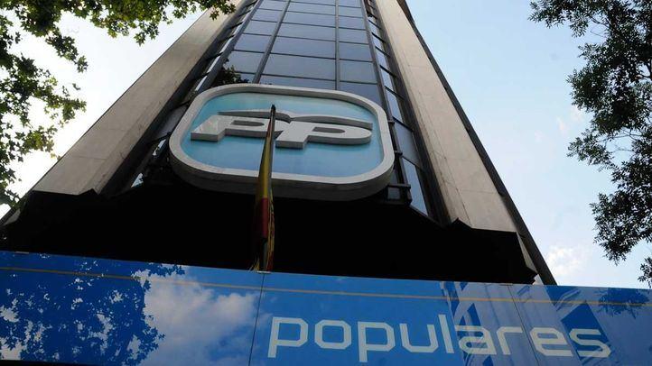 Sede del Partido Popular en la calle de Génova.