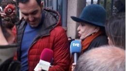 Se aplaza el juicio de Lucía Bosé.