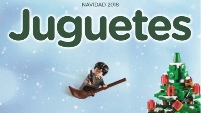 Catálogo de Navidad de El Corte Inglés.