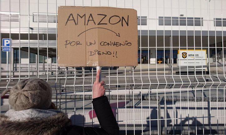 Convocados paros en Amazon para el Black Friday, el puente de la Constitución y Navidad