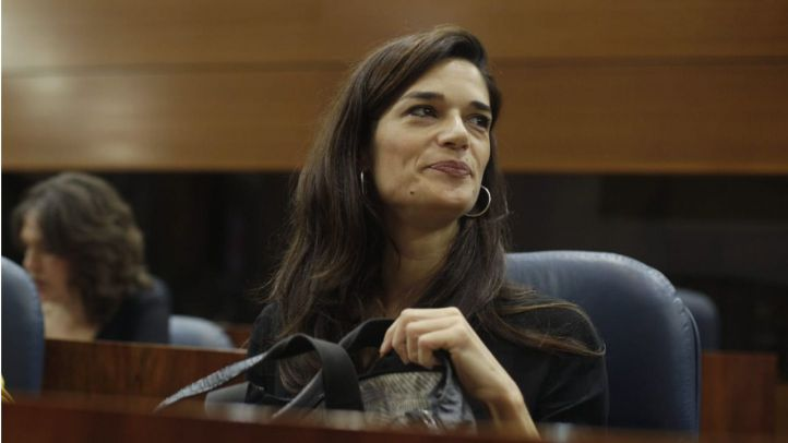 Clara Serra, portavoz de Podemos en la Asamblea