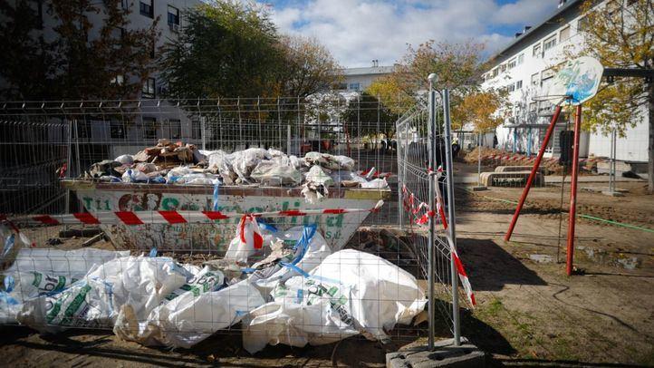 Obras paralizadas en el poblado A de Fuencarral.