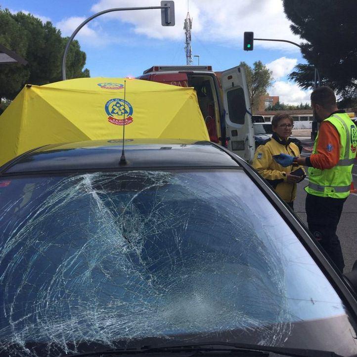 Muy grave un menor de 14 años atropellado en Puente de Vallecas