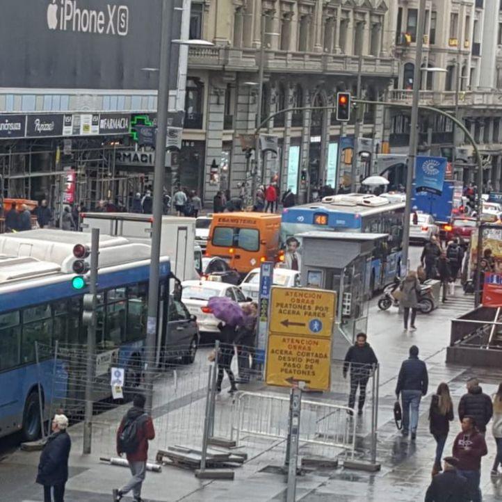 Madrid se convierte de nuevo en una ratonera para los conductores