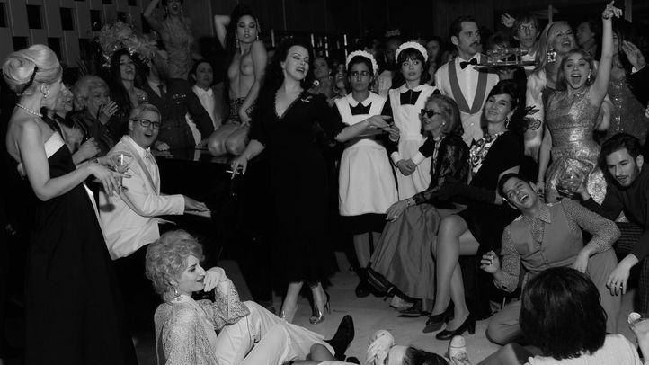 Imagen del making off de Arde Madrid, de Paco León y Anna R. Costa