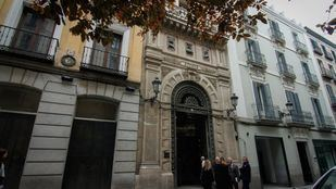 El Ateneo de Madrid fue construido con un estilo modernista entre 1881 y 1884.