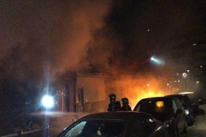 Un incendio en Torrejón obliga a desalojar a 70 personas