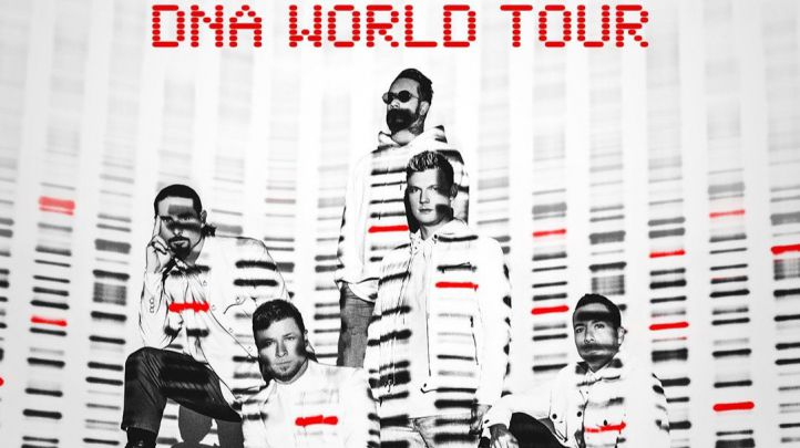 Backstreet Boys presentan 'DNA World Tour', su nueva gira mundial.