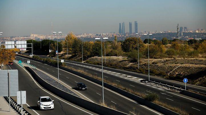 Boina contaminación en la ciudad de Madrid.