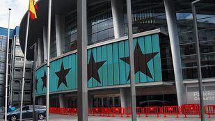 Palacio de los Deportes de Madrid, ahora llamado Wizink Center.