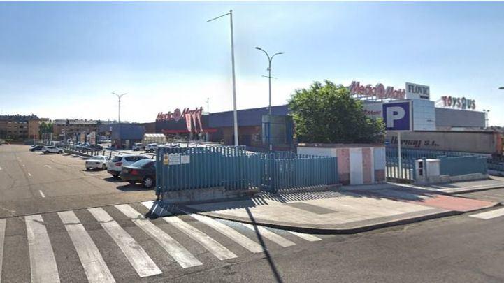 Polígono Industrial El Carralero, lugar donde se han producido los hechos.