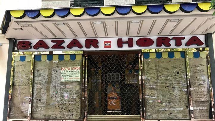 Bazar Horta, una de las jugueterías más antiguas de Madrid.