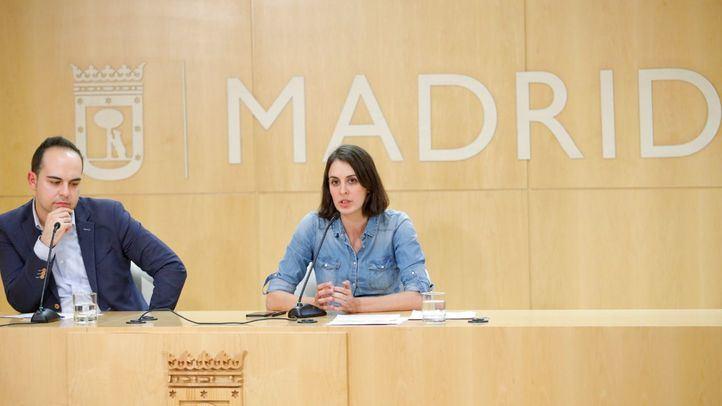 Rita Maestre, -José Manuel Calvo, Jorge García Castaño, Esther Gómez, Marta Gómez Lahoz y Paco Pérez han anunciado que no se presentarán a las primarias de Podemos en Madrid.