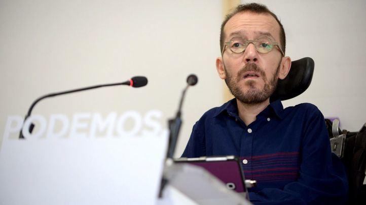 Pablo Echenique ha avisado a los seis concejales de Madrid de que si no pasan por sus primarias, están fuera de Podemos.