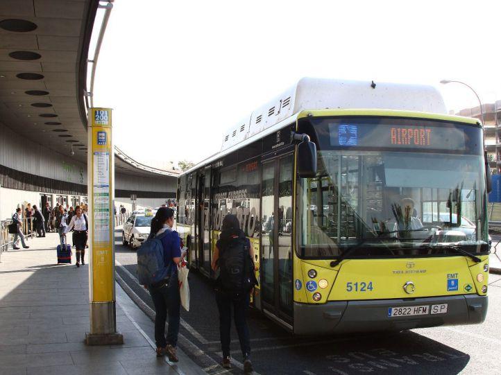 Piloto para pagar con el móvil en los autobuses de la EMT