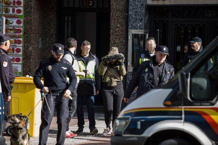 Golpe policial a una red de trata en Delicias