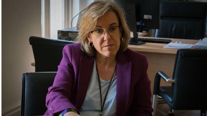 Purificación Causapié, portavoz del PSOE en el Ayuntamiento de Madrid.
