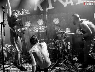 La banda de rock madrileña Kitai, récord Guinness al tocar 24 horas seguidas